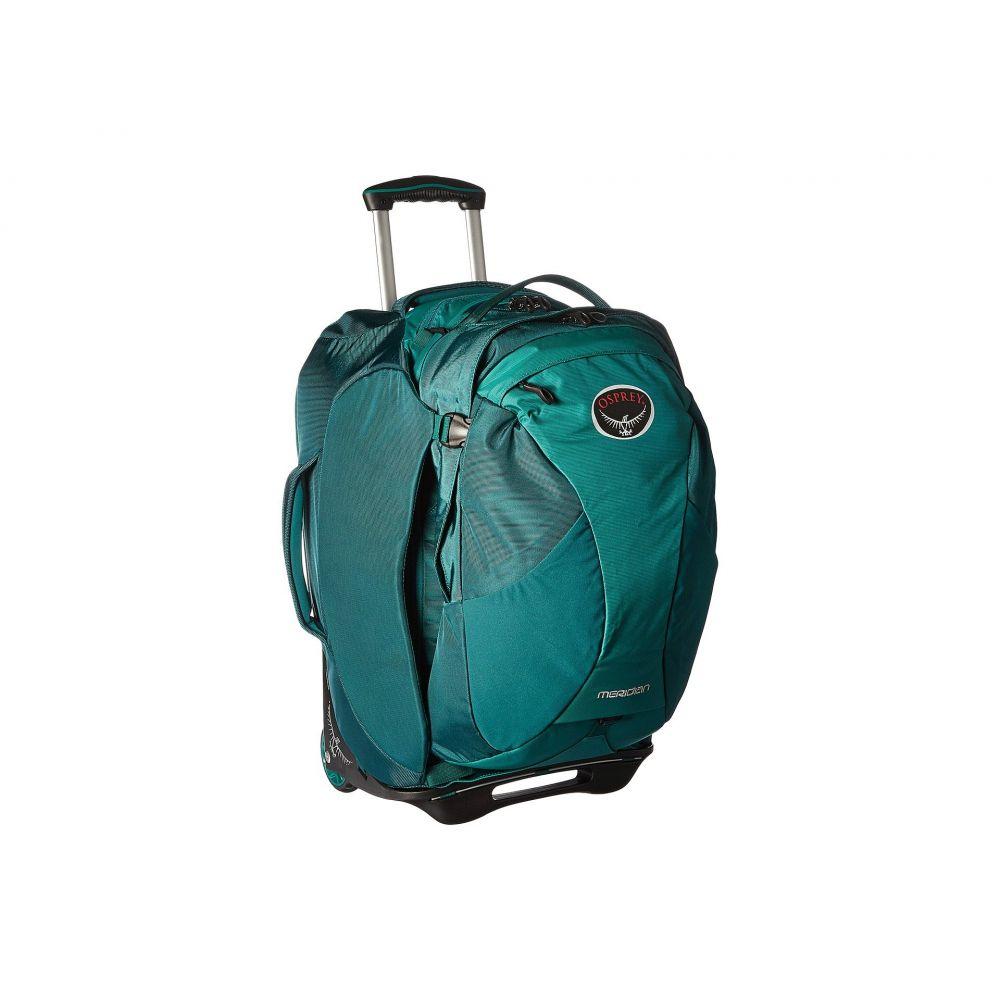 オスプレー Osprey レディース バッグ スーツケース・キャリーバッグ【Meridian 22'/60L】Rainforest Green