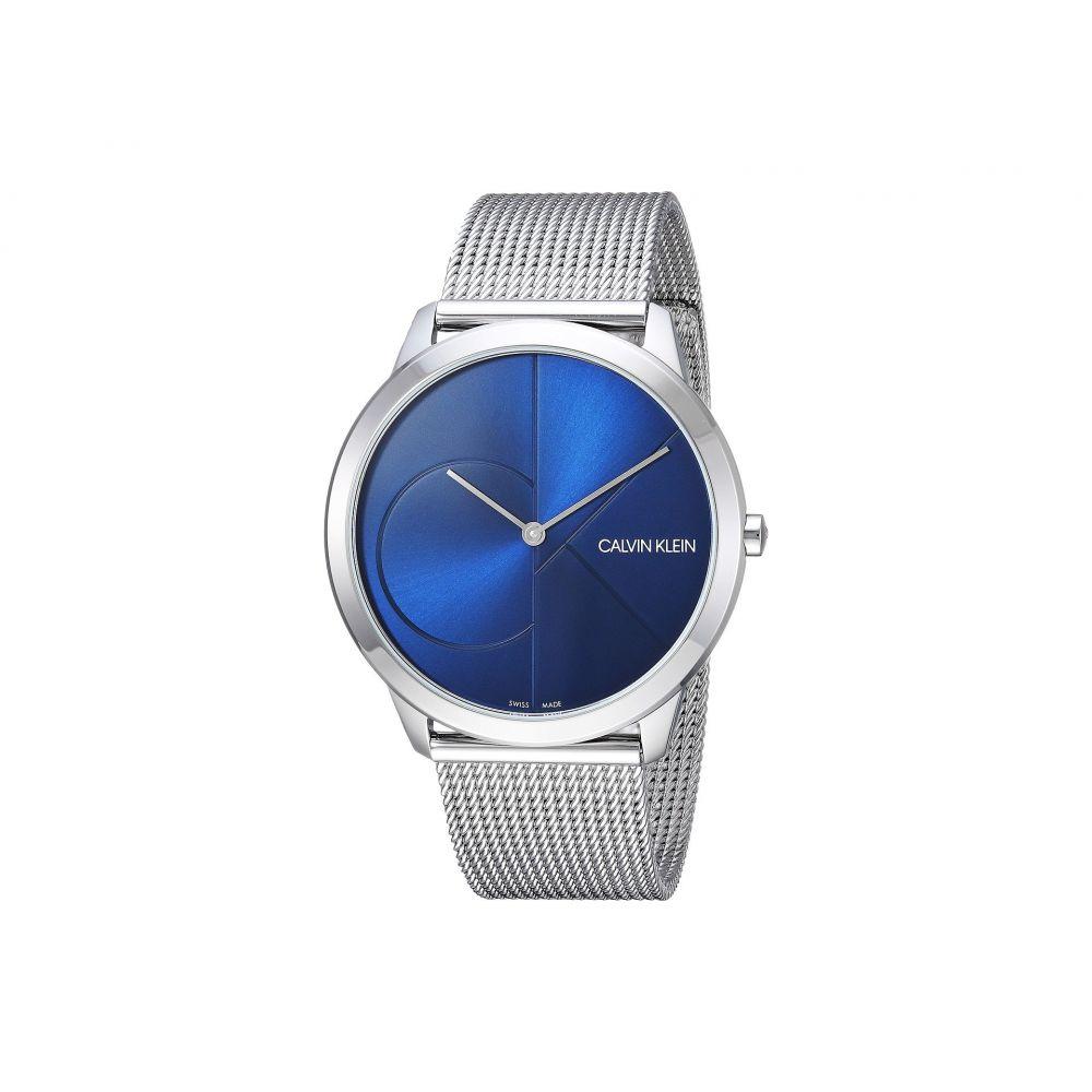 カルバンクライン Calvin Klein メンズ 腕時計【Minimal Watch - K3M2112N】Blue/Silver