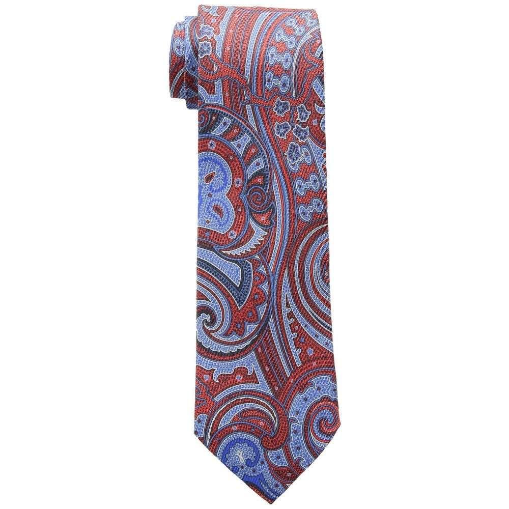 エトロ Etro メンズ ネクタイ【8cm Paisley Tie】Blue/Red