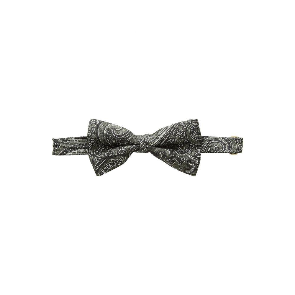エトロ Etro メンズ 蝶ネクタイ【Paisley Bow Tie】Black