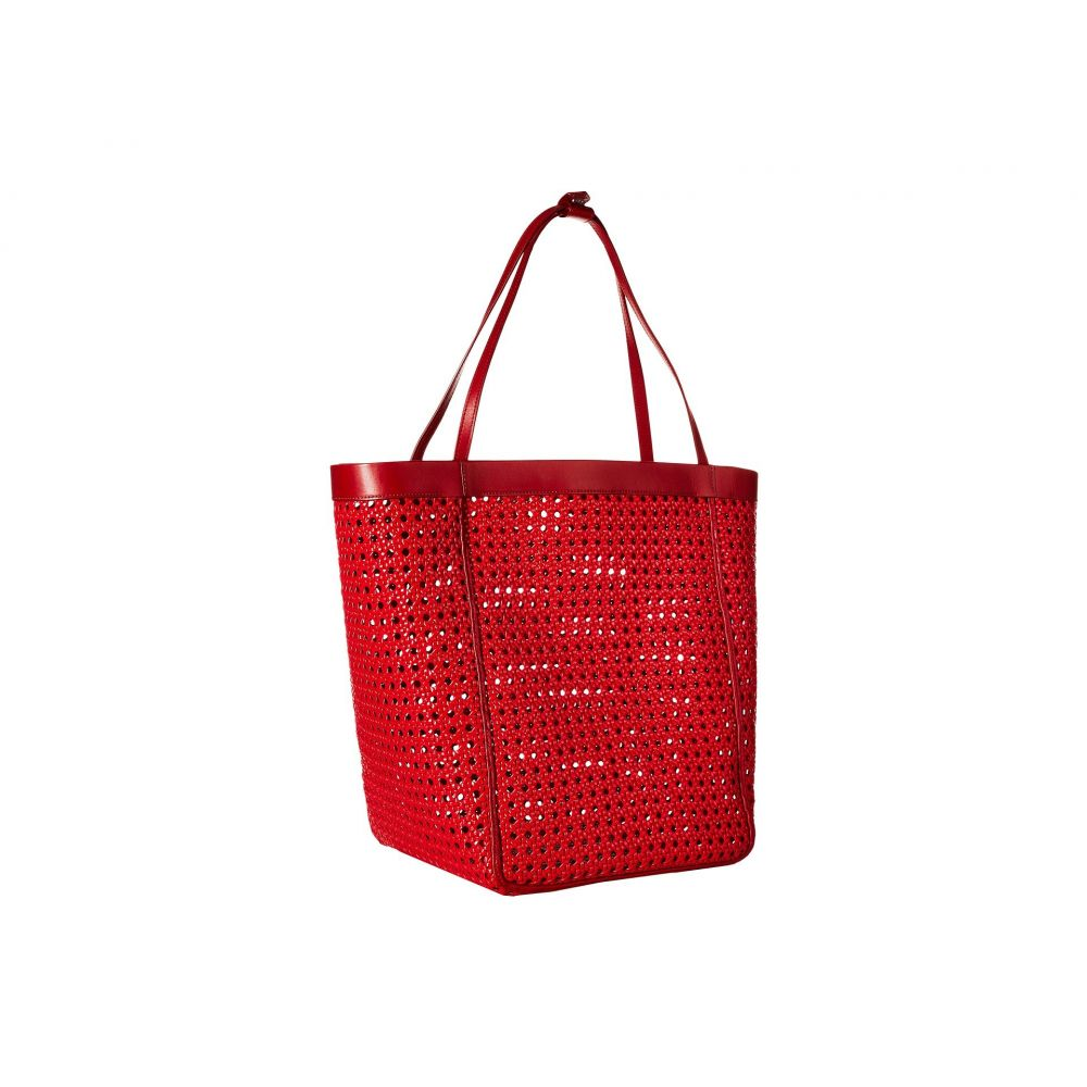 673ed98d7fab エリザベス アンド ジェームス Elizabeth and James バッグ トートバッグ【Woven Teller Tote】Red  レディース-トートバッグ