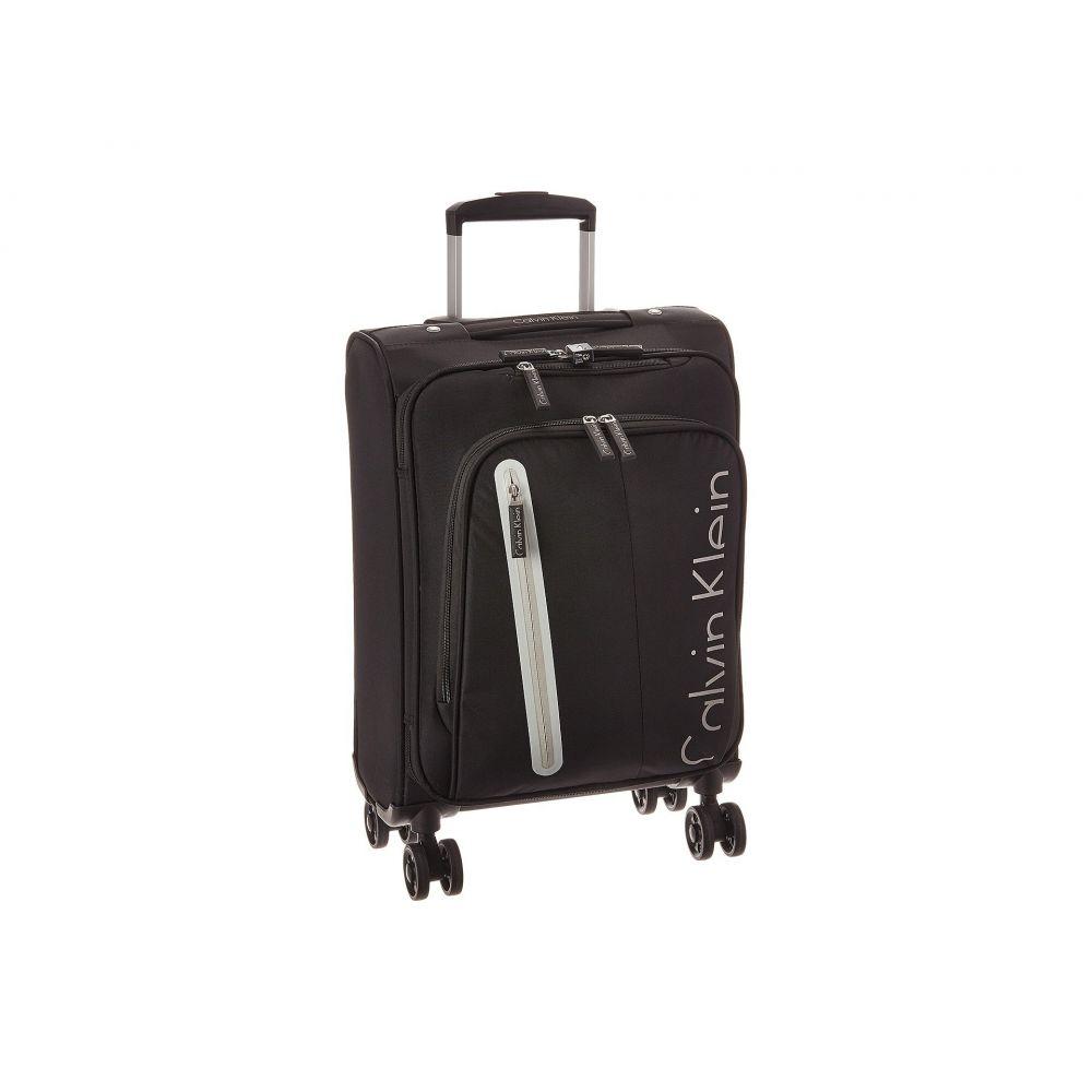 カルバンクライン Calvin Klein レディース バッグ スーツケース・キャリーバッグ【Gramercy 4.0 21' Expandable Spinner】Black