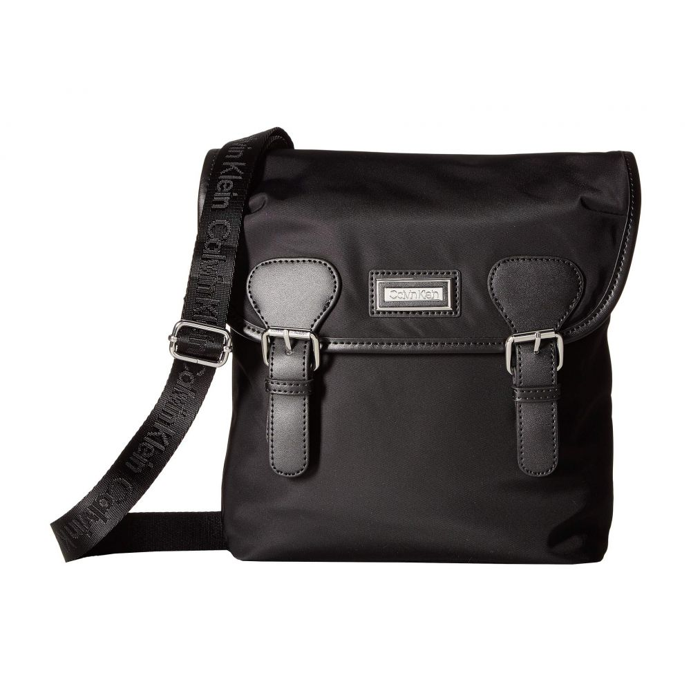 カルバンクライン Calvin Klein レディース バッグ ショルダーバッグ【Belfast Key Item Nylon Crossbody】Black/Silver