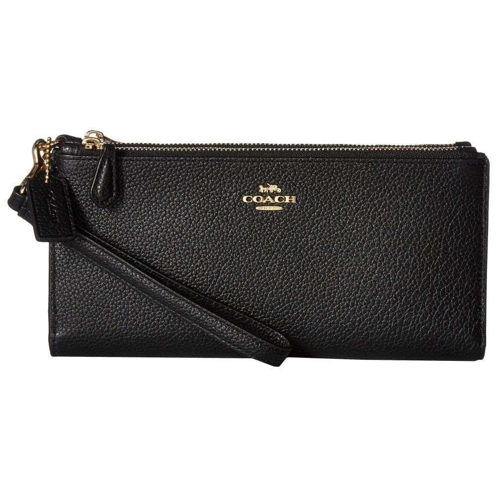 コーチ COACH レディース 財布【Double Zip Wallet】LI/Black