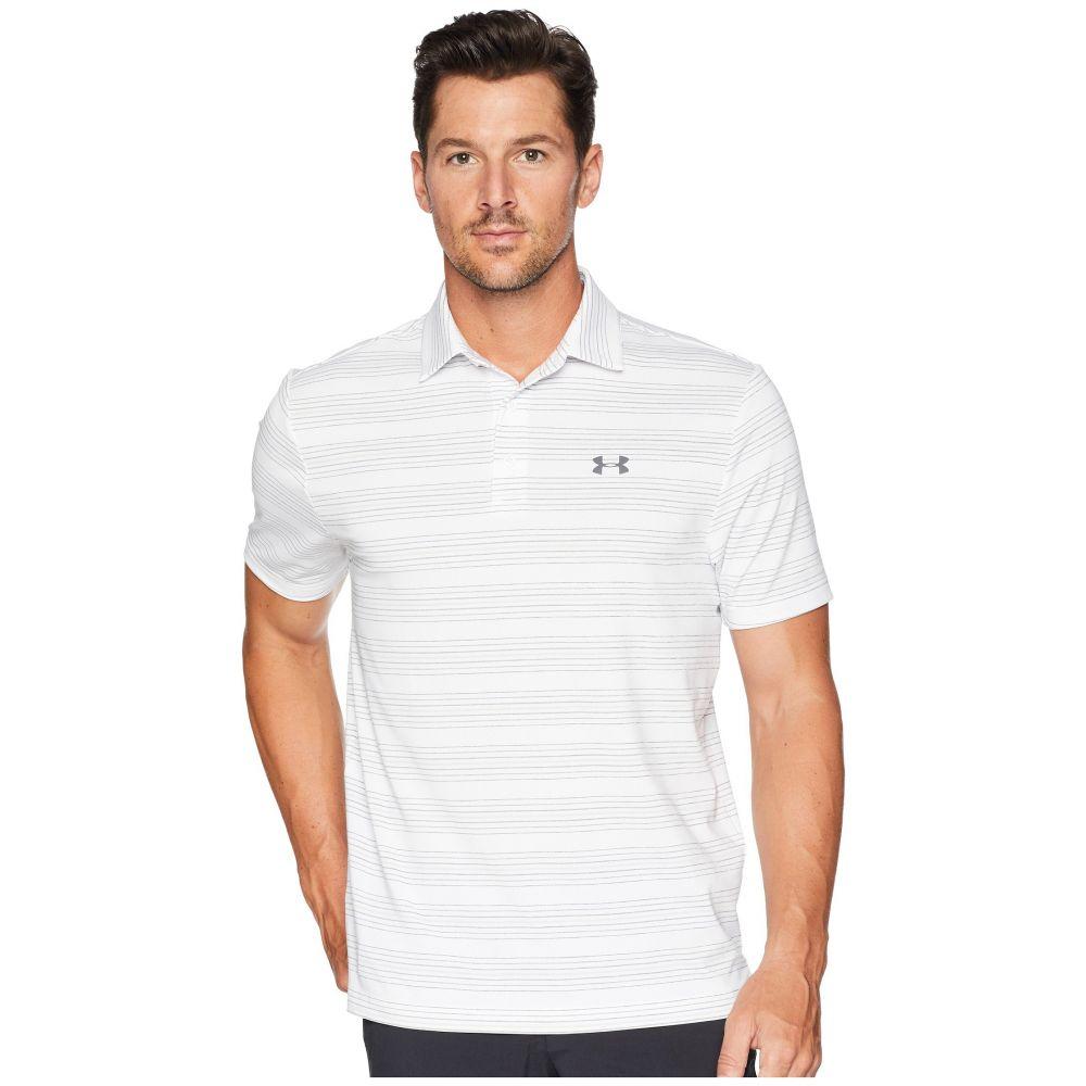 アンダーアーマー Under Armour Golf メンズ ゴルフ トップス【UA Playoff Polo】White/White/Rhino Gray