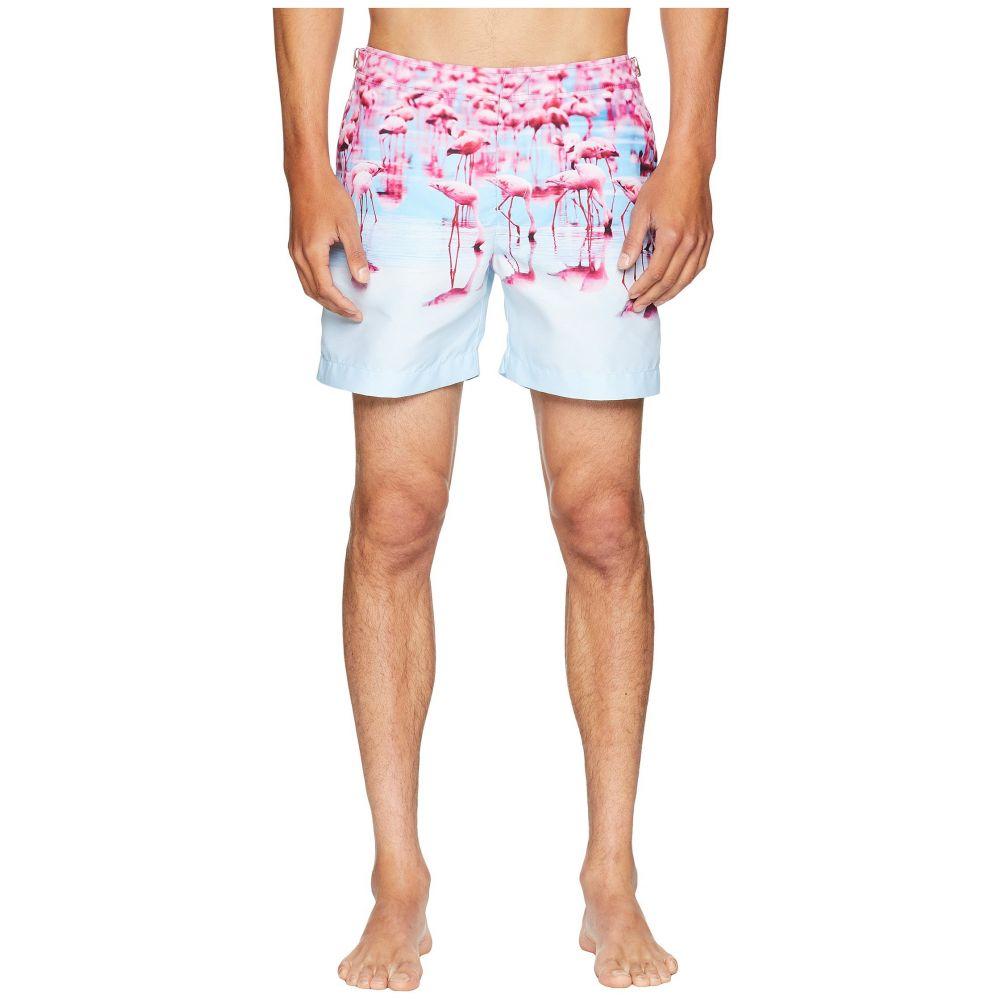 オールバー ブラウン Orlebar Brown メンズ 水着・ビーチウェア 海パン【Bulldog Photographic Flamingos Swim Shorts】Flocking About
