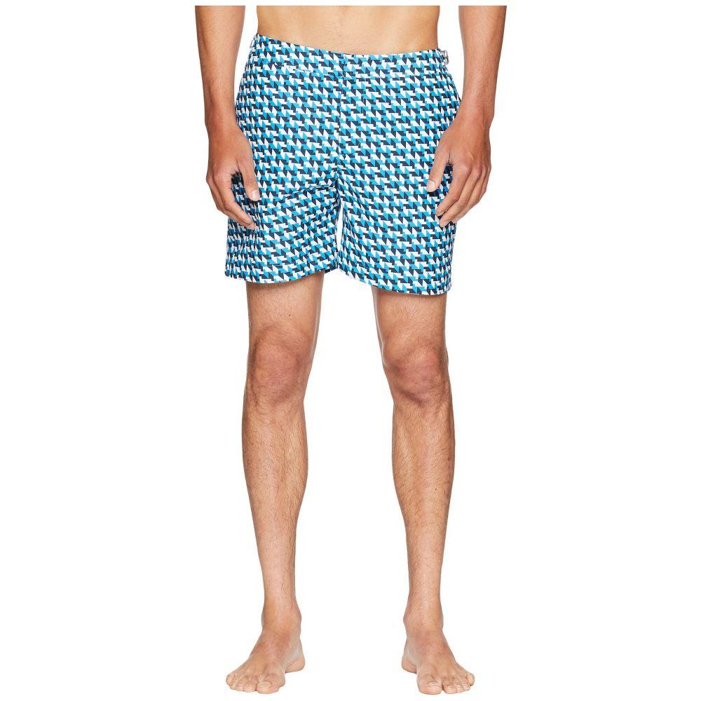 オールバー ブラウン Orlebar Brown メンズ 水着・ビーチウェア 海パン【Bulldog Barthmann Swim Shorts】Azure