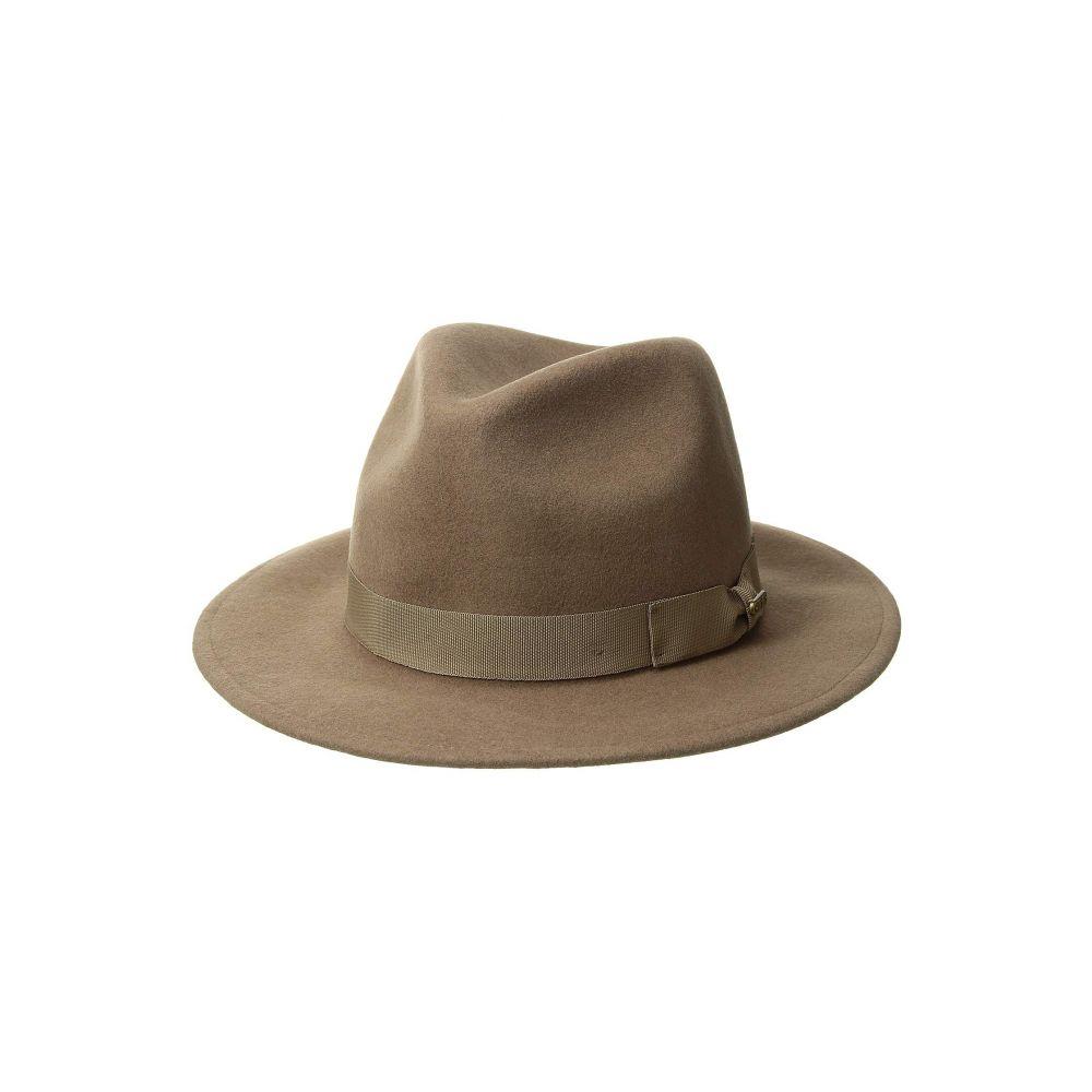 サンディエゴハット San Diego Hat Company レディース 帽子 ハット【WFH8039 Felt Fedora Hat】Camel