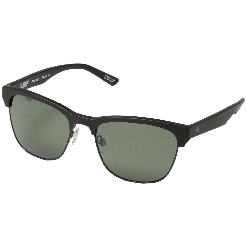 スパイ Spy Optic レディース メガネ・サングラス【Loma】Matte Black/Black/Happy Gray Green Polar