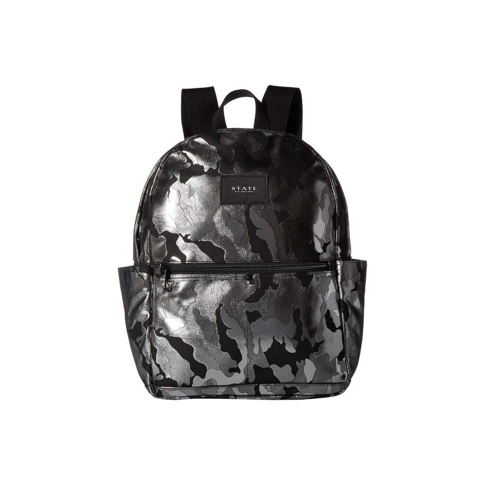 ステイト STATE Bags レディース バッグ バックパック・リュック【Metallic Camo Williams P Backpack】Black Camo