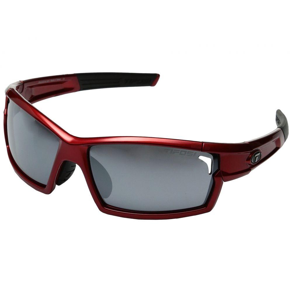 ティフォージ Tifosi Optics レディース スポーツサングラス【Cam Rock】Metallic Red