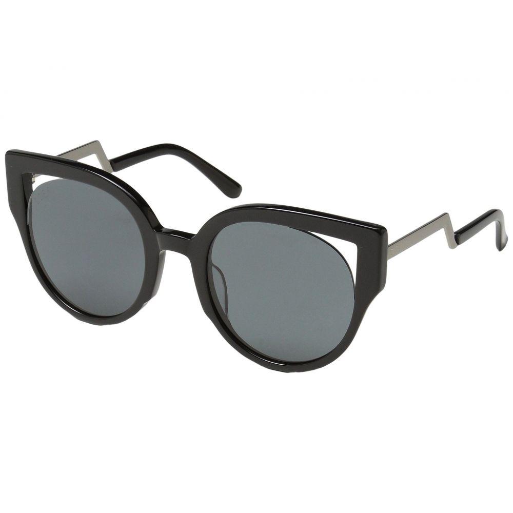 ディフアイウェア DIFF Eyewear レディース メガネ・サングラス【Penny】Black/Grey