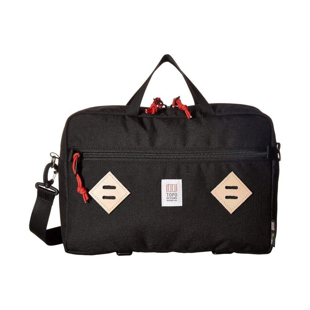 トポ デザイン Topo Designs レディース バッグ パソコンバッグ【Mountain Briefcase】Black