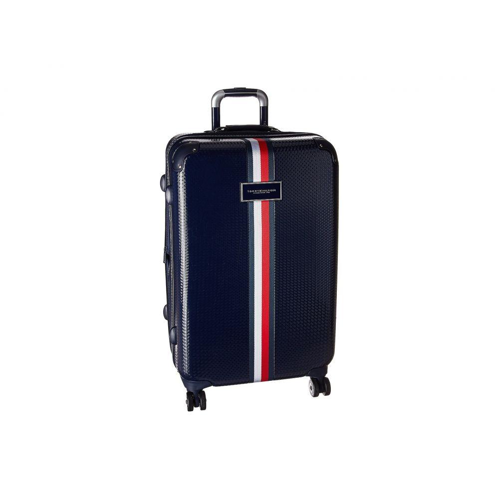 トミー ヒルフィガー Tommy Hilfiger レディース バッグ スーツケース・キャリーバッグ【Basketweave 25' Upright Suitcase】Navy