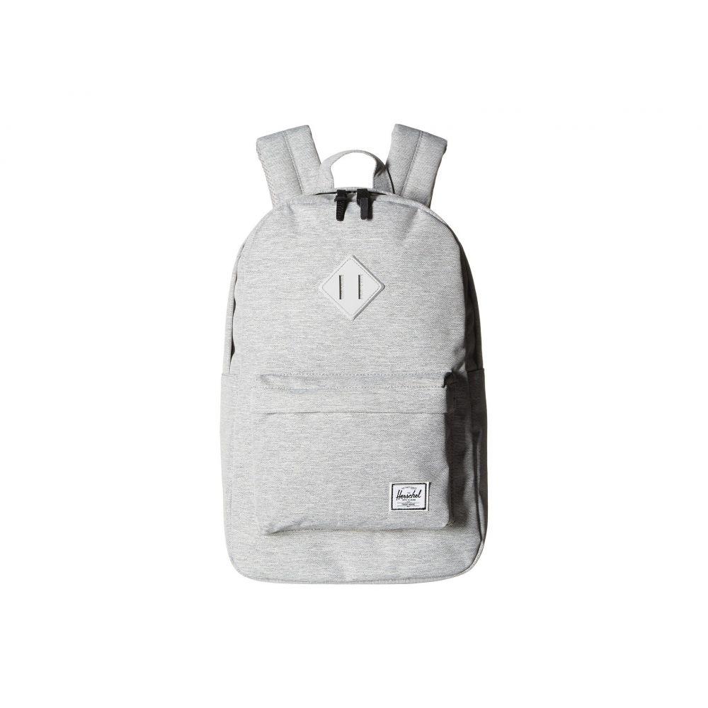ハーシェル サプライ Herschel Supply Co. レディース バッグ バックパック・リュック【Heritage Mid-Volume】Light Grey Crosshatch/Grey Rubber