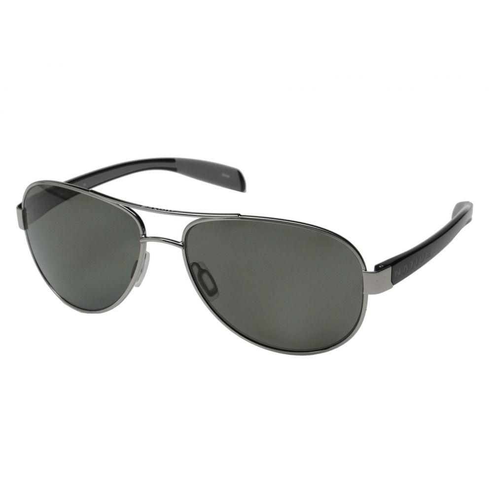 ネイティブアイウェア Native Eyewear レディース スポーツサングラス【Patroller】Chrome/Iron/Gray