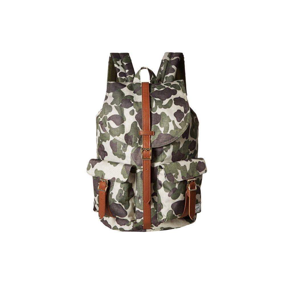 ハーシェル サプライ Herschel Supply Co. レディース バッグ バックパック・リュック【Dawson】Frog Camo/Tan Synthetic Leather
