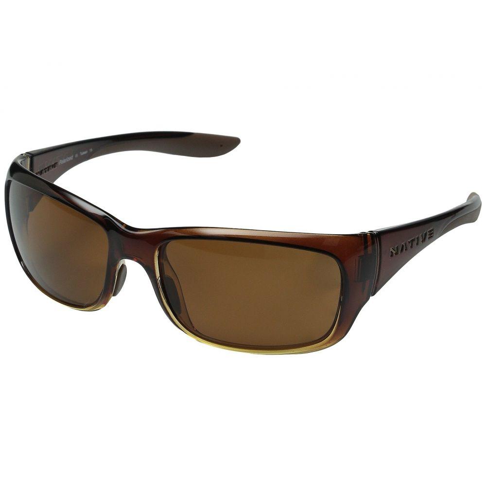ネイティブアイウェア Native Eyewear レディース スポーツサングラス【Kannah】Stout Fade/Brown