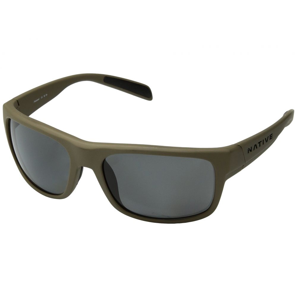 ネイティブアイウェア Native Eyewear レディース スポーツサングラス【Ashdown】Desert Tan/Gray Polarized Lens
