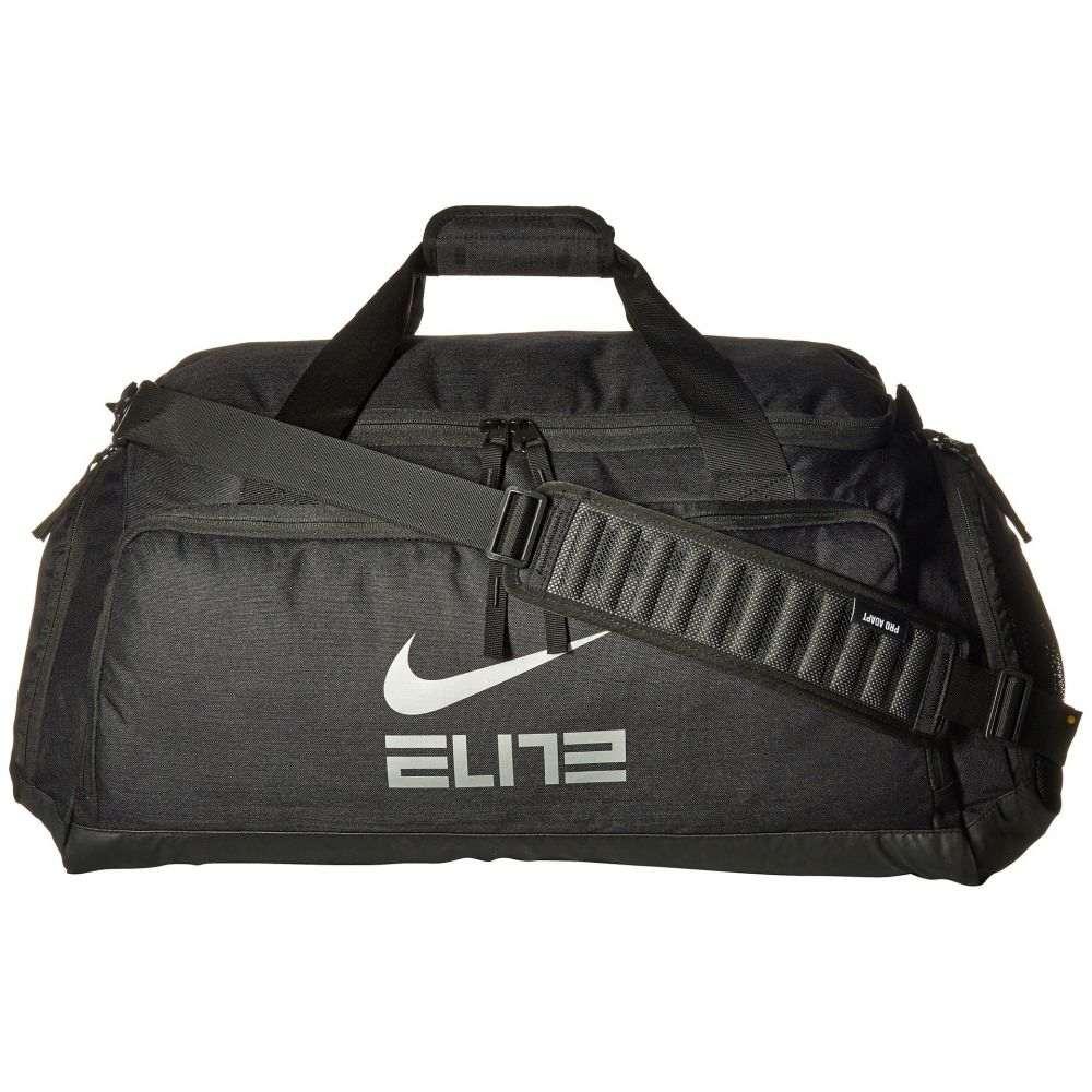 ナイキ Nike レディース バッグ ボストンバッグ・ダッフルバッグ【Hoops Elite Duffel】Black/Black/Metallic Cool Grey