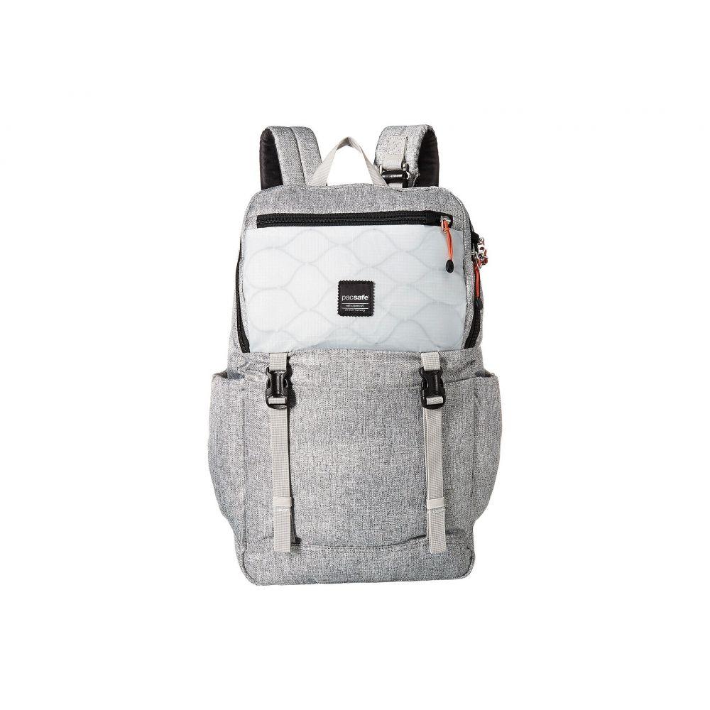 パックセイフ Pacsafe レディース バッグ バックパック・リュック【Slingsafe LX500 Anti-Theft 21L Backpack】Tweed Grey