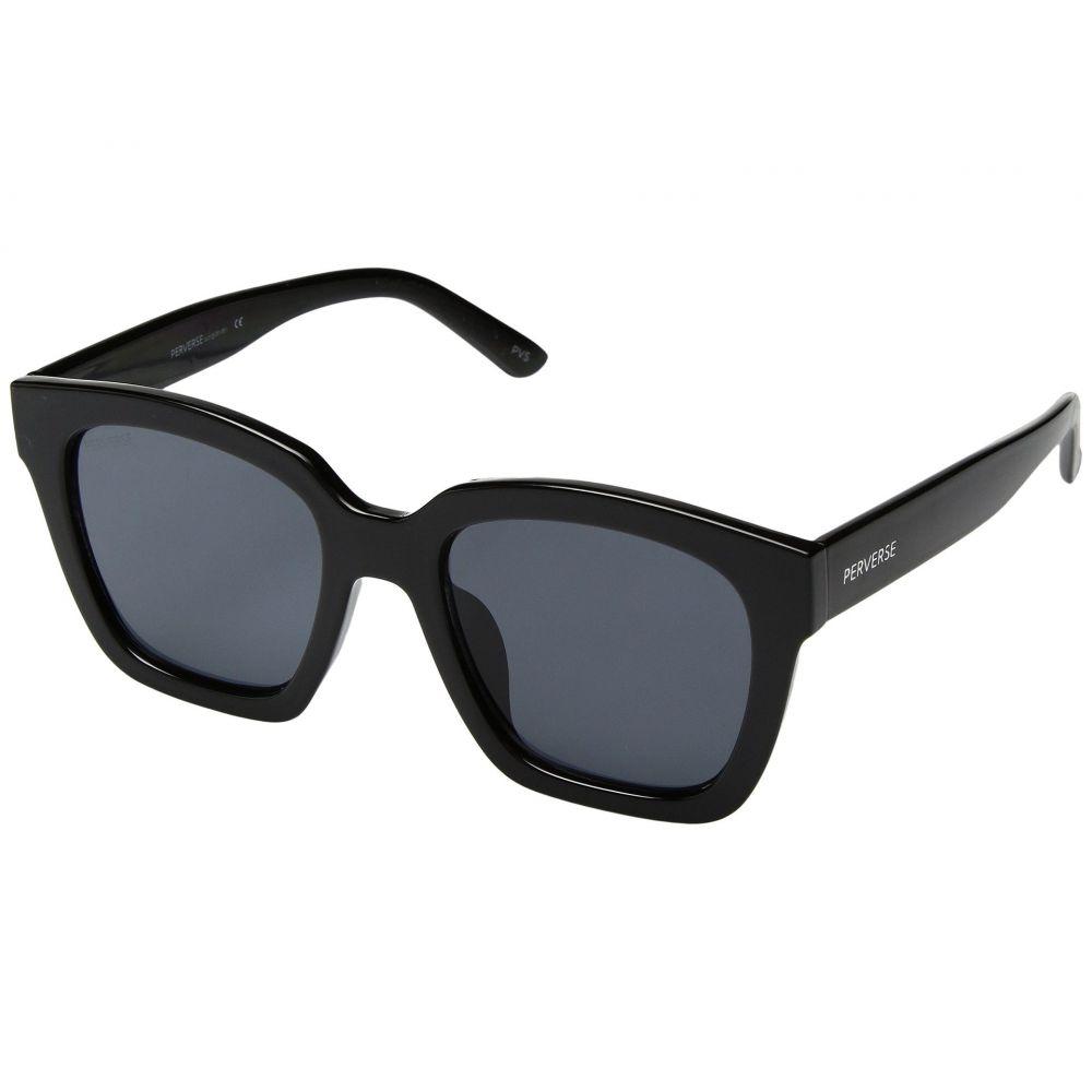 パーバースサングラス THOMAS JAMES LA by PERVERSE Sunglasses レディース メガネ・サングラス【Ace】Haute/Jet Black/Black