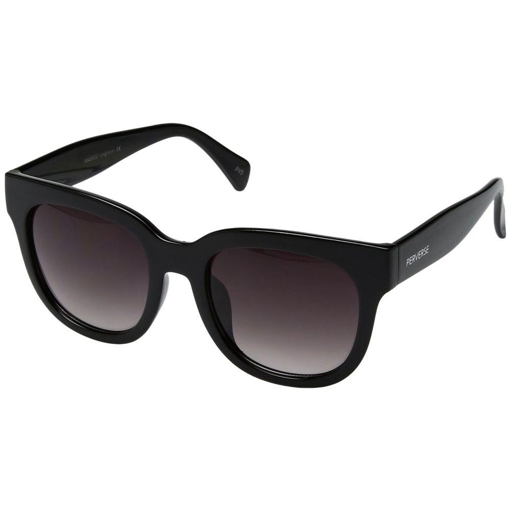 パーバースサングラス THOMAS JAMES LA by PERVERSE Sunglasses レディース メガネ・サングラス【Dawn Patrol】Dark/Glossy Black/Black Gradient