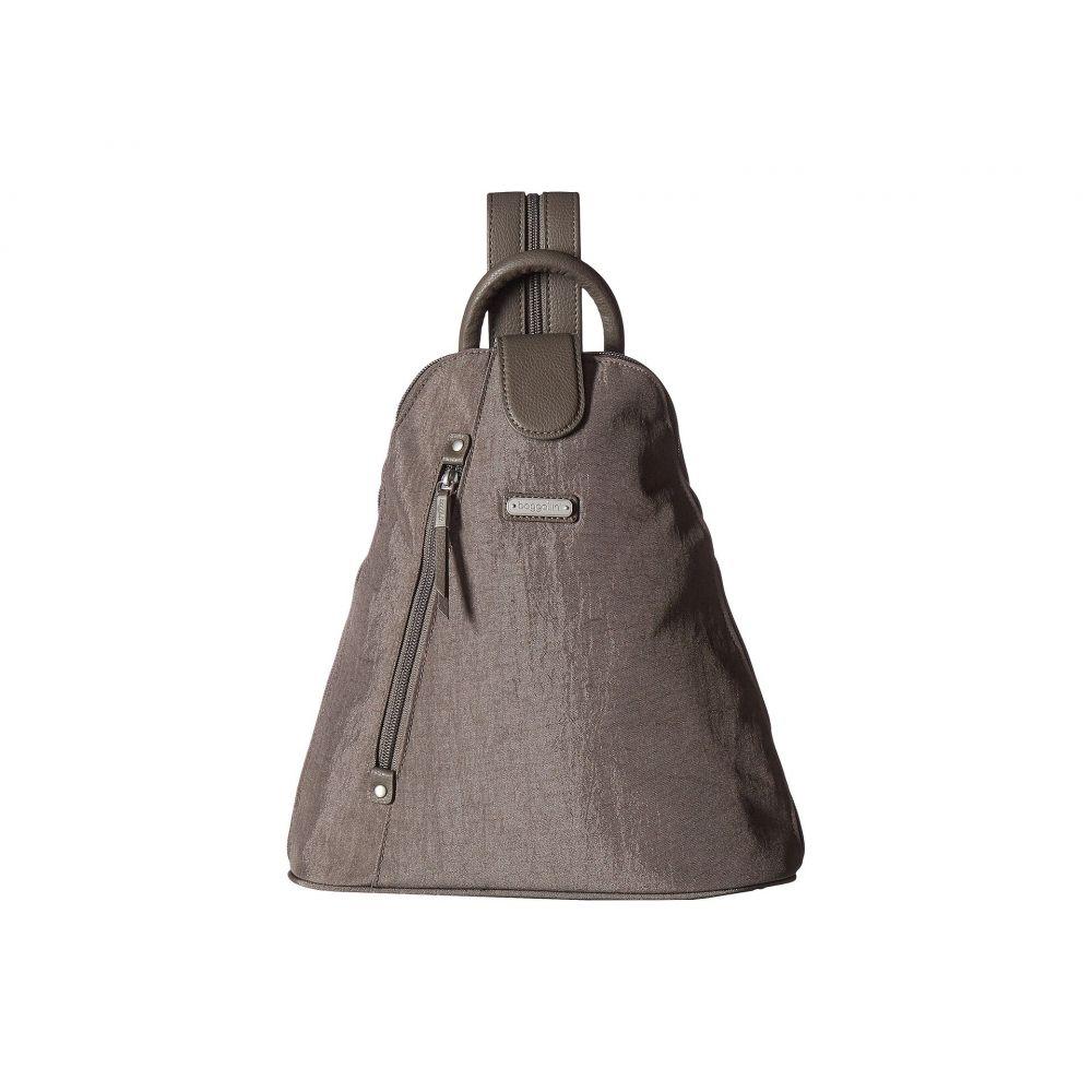 バッガリーニ Baggallini レディース バッグ バックパック・リュック【Metro Backpack with RFID Phone Wristlet】Sterling Shimmer
