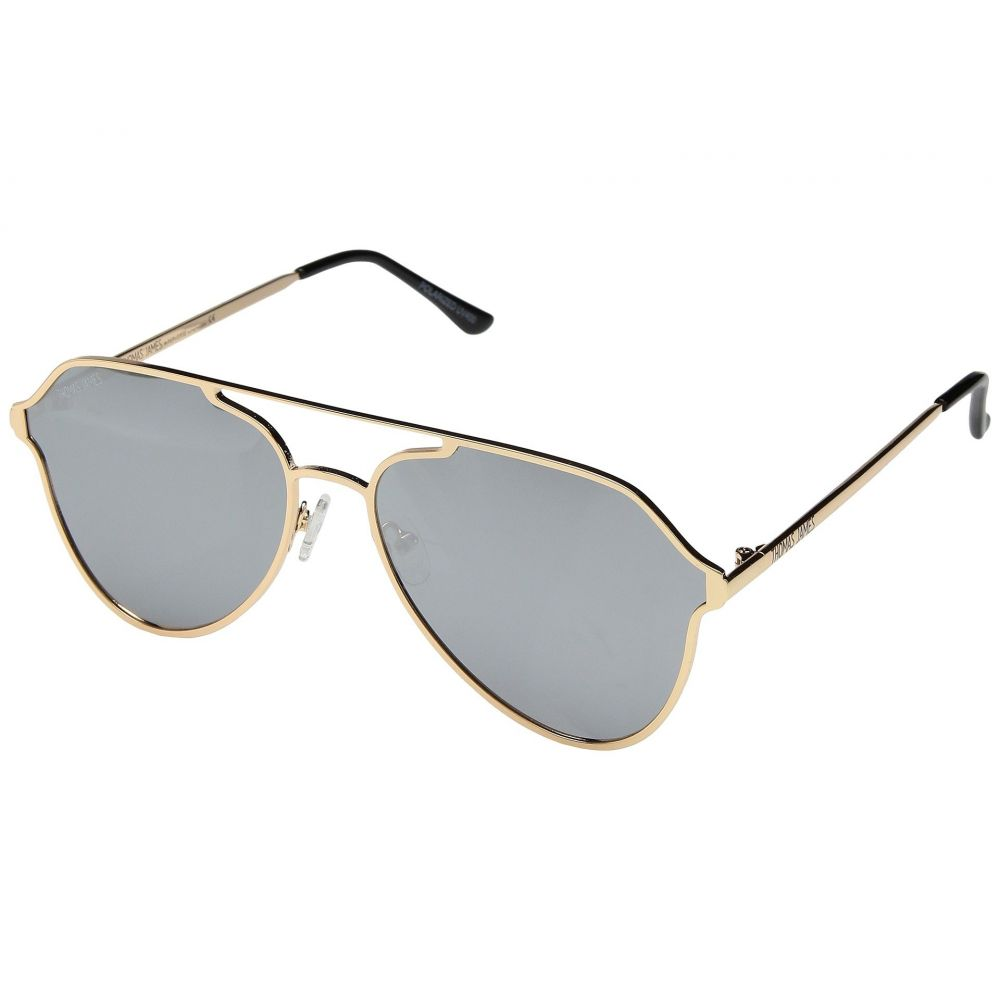 パーバースサングラス THOMAS JAMES LA by PERVERSE Sunglasses レディース メガネ・サングラス【Capetown】Gold/Silver Flash Lens