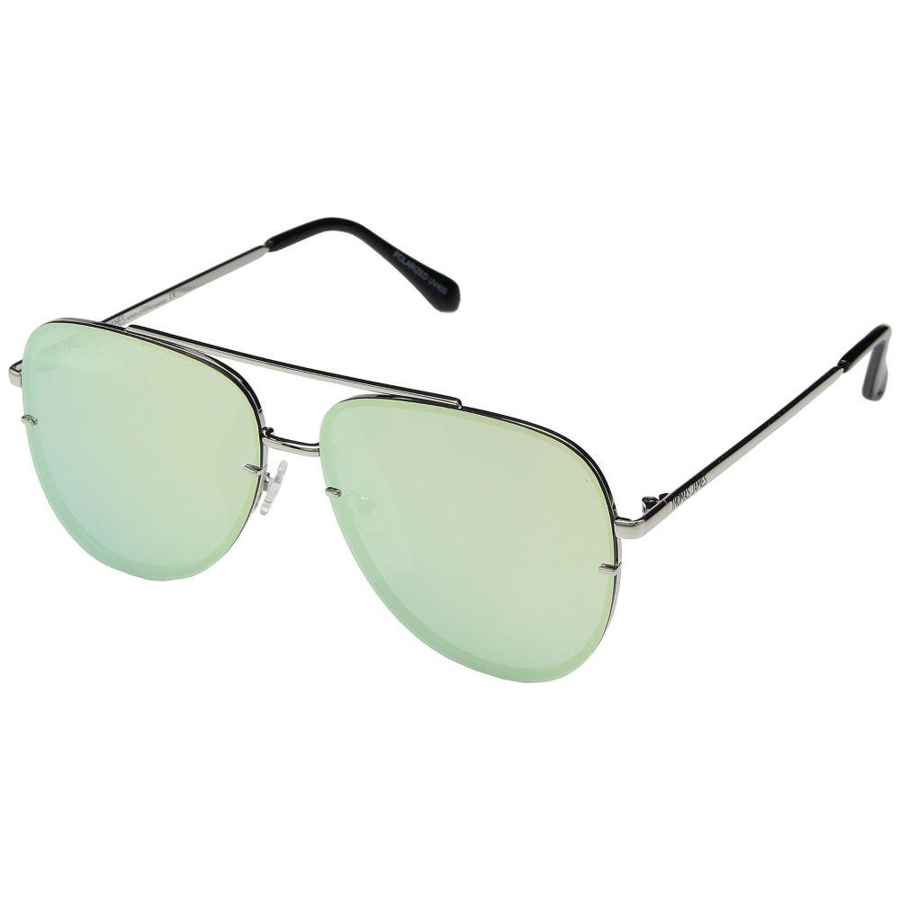 パーバースサングラス THOMAS JAMES LA by PERVERSE Sunglasses レディース メガネ・サングラス【Cruise】Silver/Mint Lens