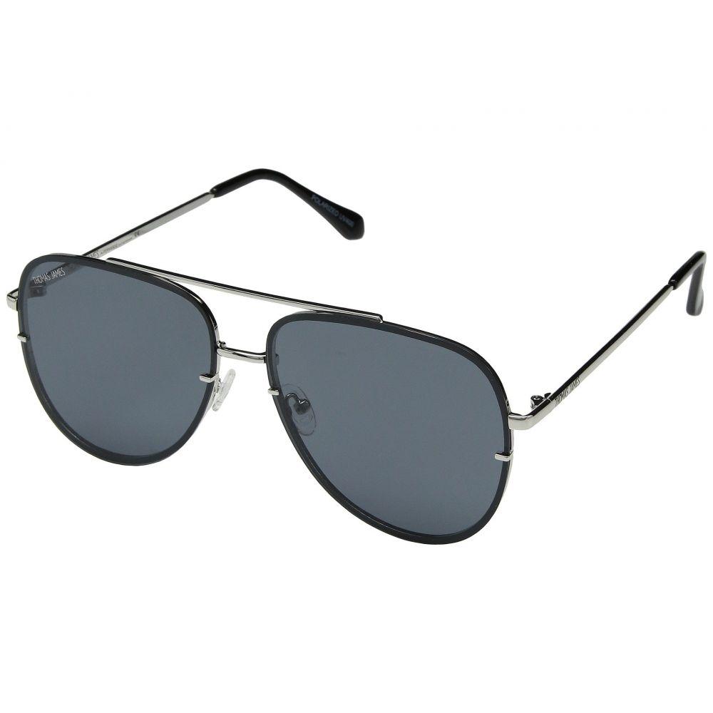 JAMES パーバースサングラス PERVERSE THOMAS レディース by LA Sunglasses Lens メガネ・サングラス【Cruise】Silver/Smoke