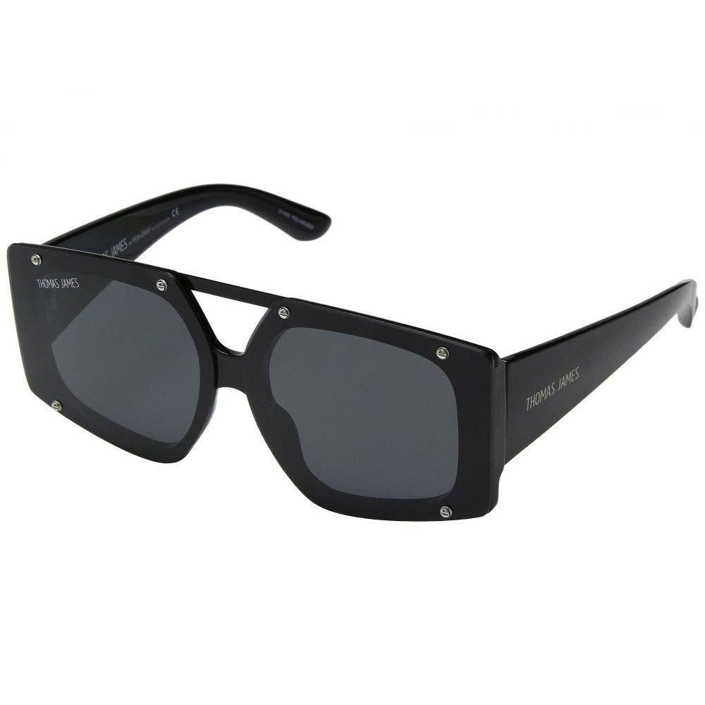 パーバースサングラス THOMAS JAMES LA by PERVERSE Sunglasses レディース メガネ・サングラス【Harajuku Bunny】Black/Smoke Lens
