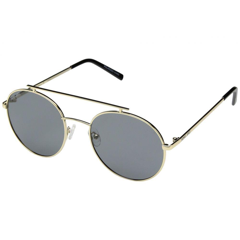 パーバースサングラス THOMAS JAMES LA by PERVERSE Sunglasses レディース メガネ・サングラス【Cherry Pie】Gold/Smoke Lens