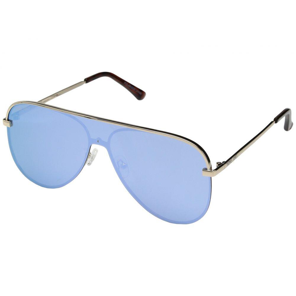 パーバースサングラス THOMAS JAMES LA by PERVERSE Sunglasses レディース メガネ・サングラス【Rockstar】Light Gold/Blue Mirror