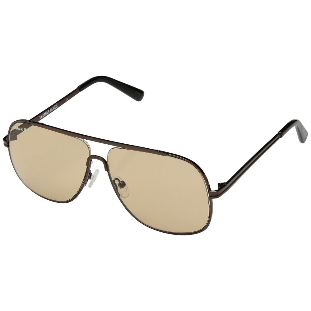 パーバースサングラス THOMAS JAMES LA by PERVERSE Sunglasses レディース メガネ・サングラス【The Lab Tech】Antique Bronze/Light Brown Lens