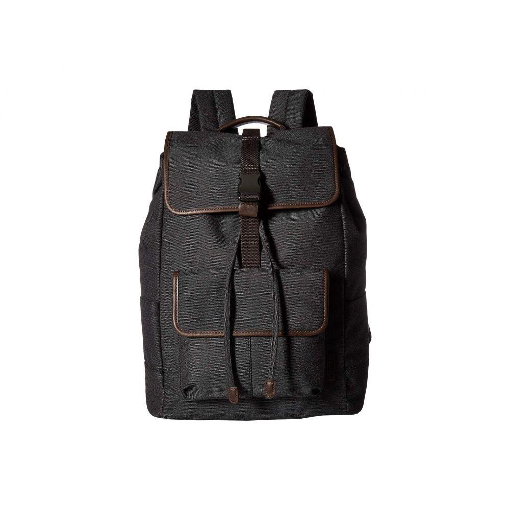 フォッシル Fossil メンズ バッグ バックパック・リュック【Buckner Rucksack Backpack】Black