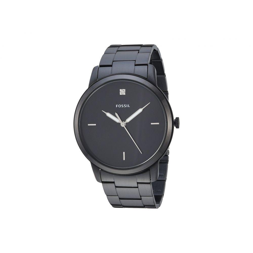 フォッシル Fossil メンズ 腕時計【The Minimalist 3H - FS5455】Black
