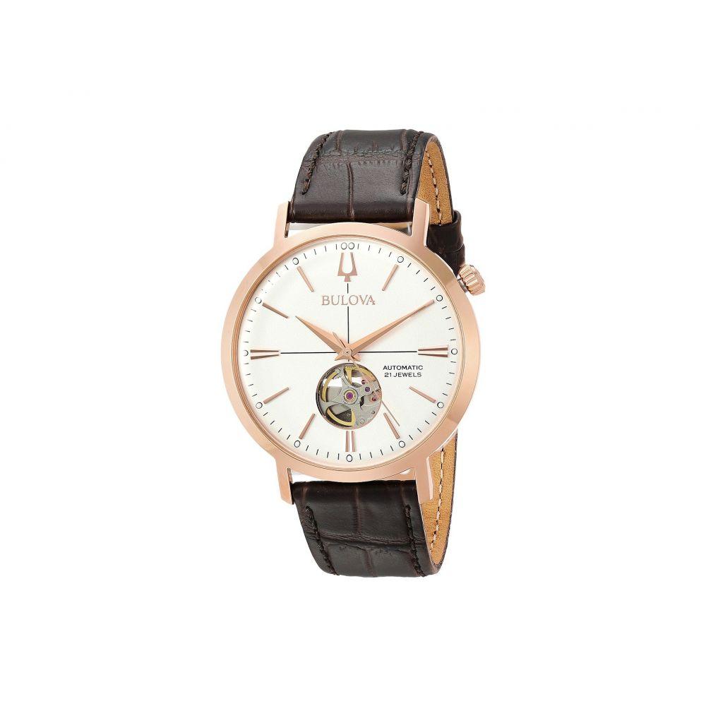 ブローバ Bulova メンズ 腕時計【Automatic - 97A136】Dark Brown