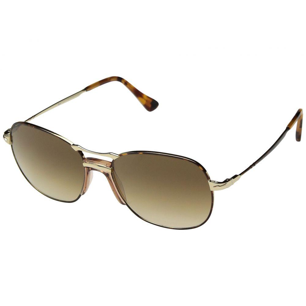 ペルソール Persol メンズ メガネ・サングラス【0PO2449S】Havana Gold/Clear Gradient Brown
