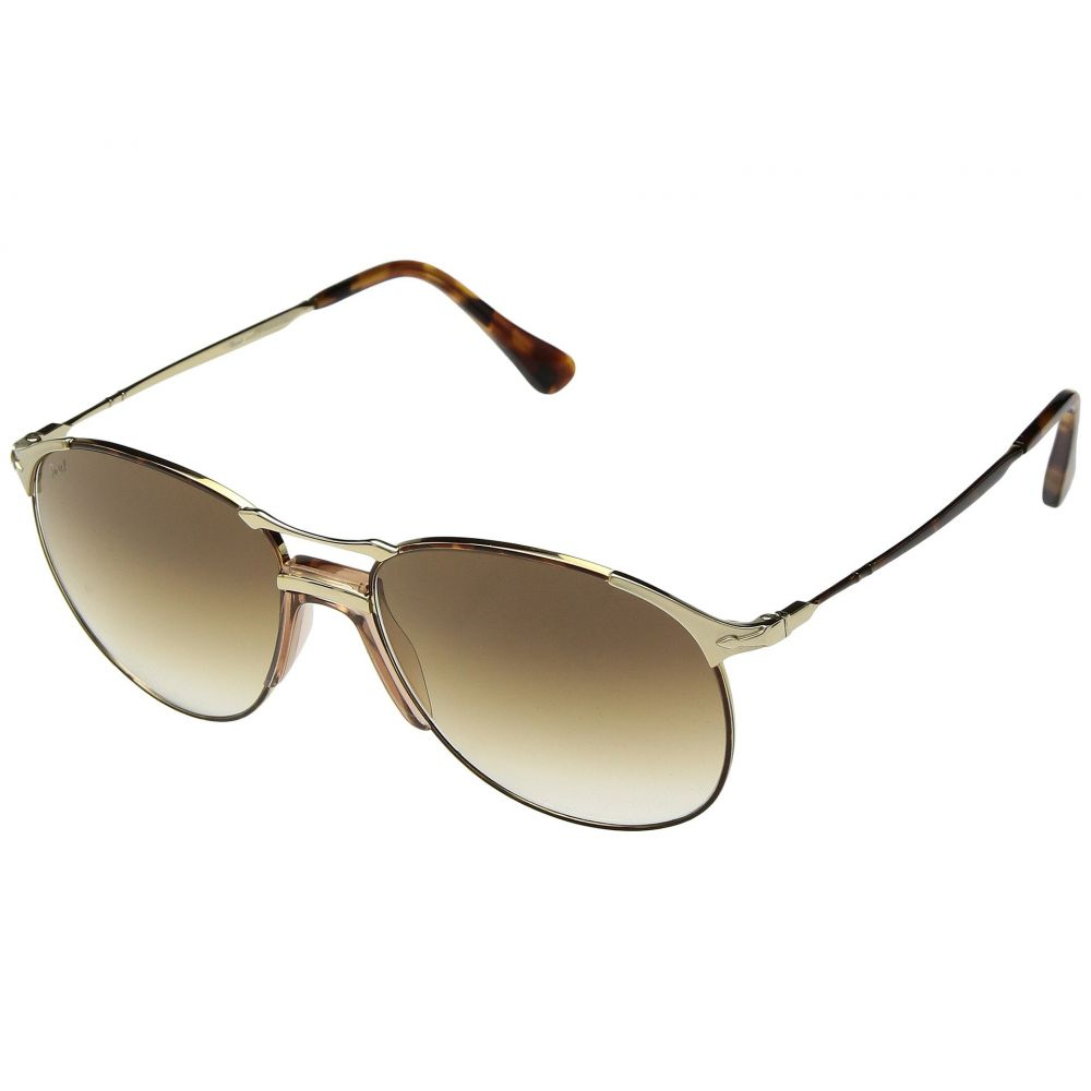 ペルソール Persol メンズ メガネ・サングラス【0PO2649S】Havana Gold/Clear Gradient Brown