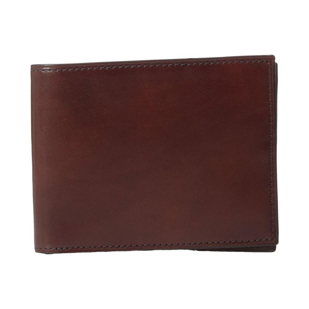 ボスカ Bosca メンズ 財布【Old Leather Collection - Executive ID Wallet】Dark Brown Leather