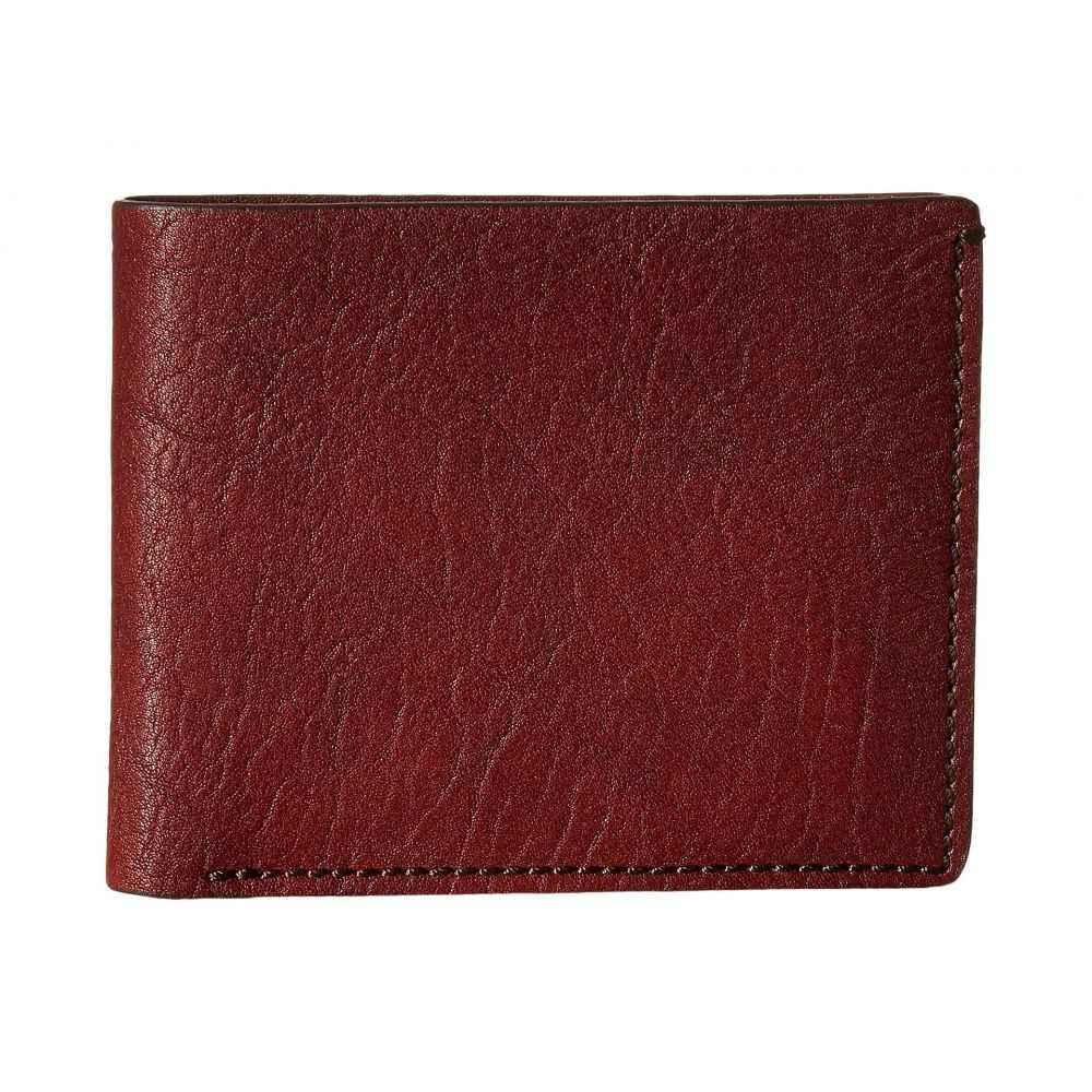 ボスカ Bosca メンズ 財布【Washed Collection - 8-Pocket Deluxe Executive Wallet】Dark Brown