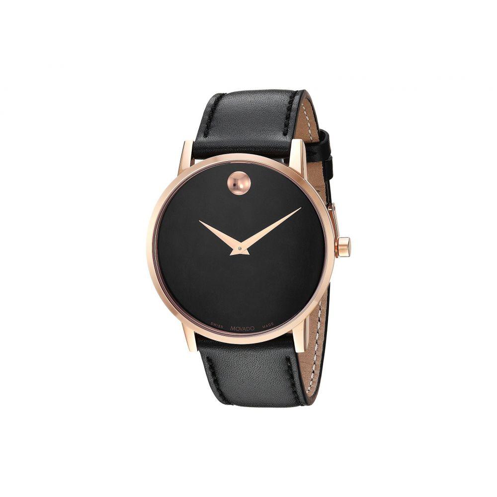 モバード Movado メンズ 腕時計【Core Museum Classic - 0607272】Rose PVD