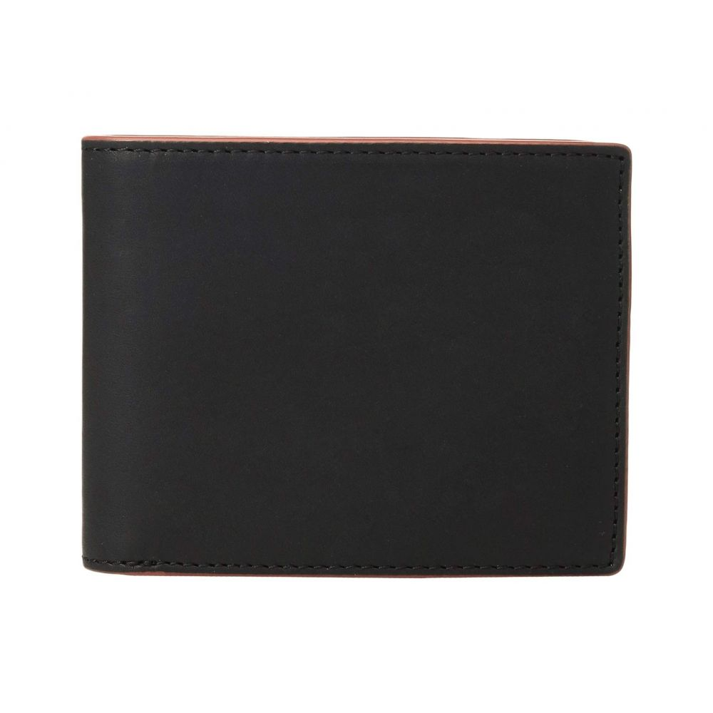 ラグ&ボーン rag & bone メンズ 財布【Hampshire Billfold Wallet】Black Combo