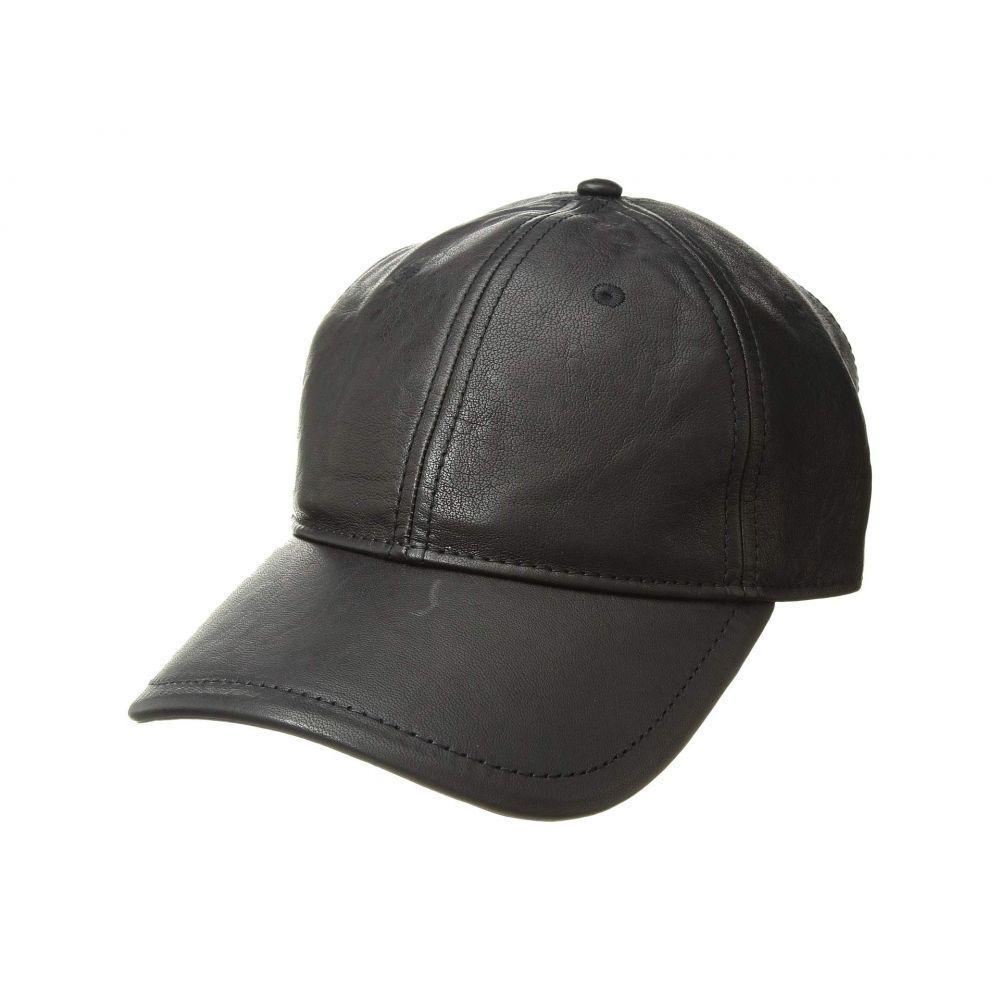 ラグ&ボーン rag & bone メンズ 帽子 キャップ【Anderson Baseball Cap】Black Crinkle