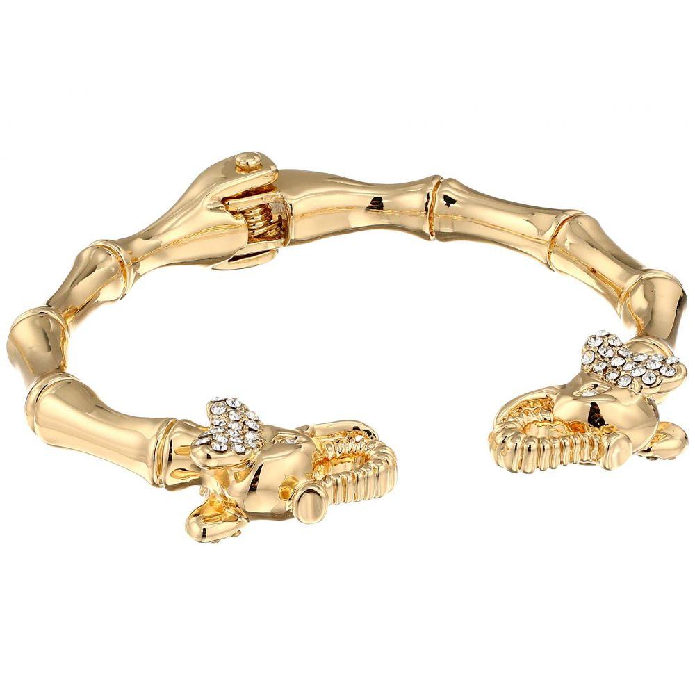リリーピュリッツァー Lilly Pulitzer レディース ジュエリー・アクセサリー ブレスレット【Glam Elephant Bracelet】Gold Metallic