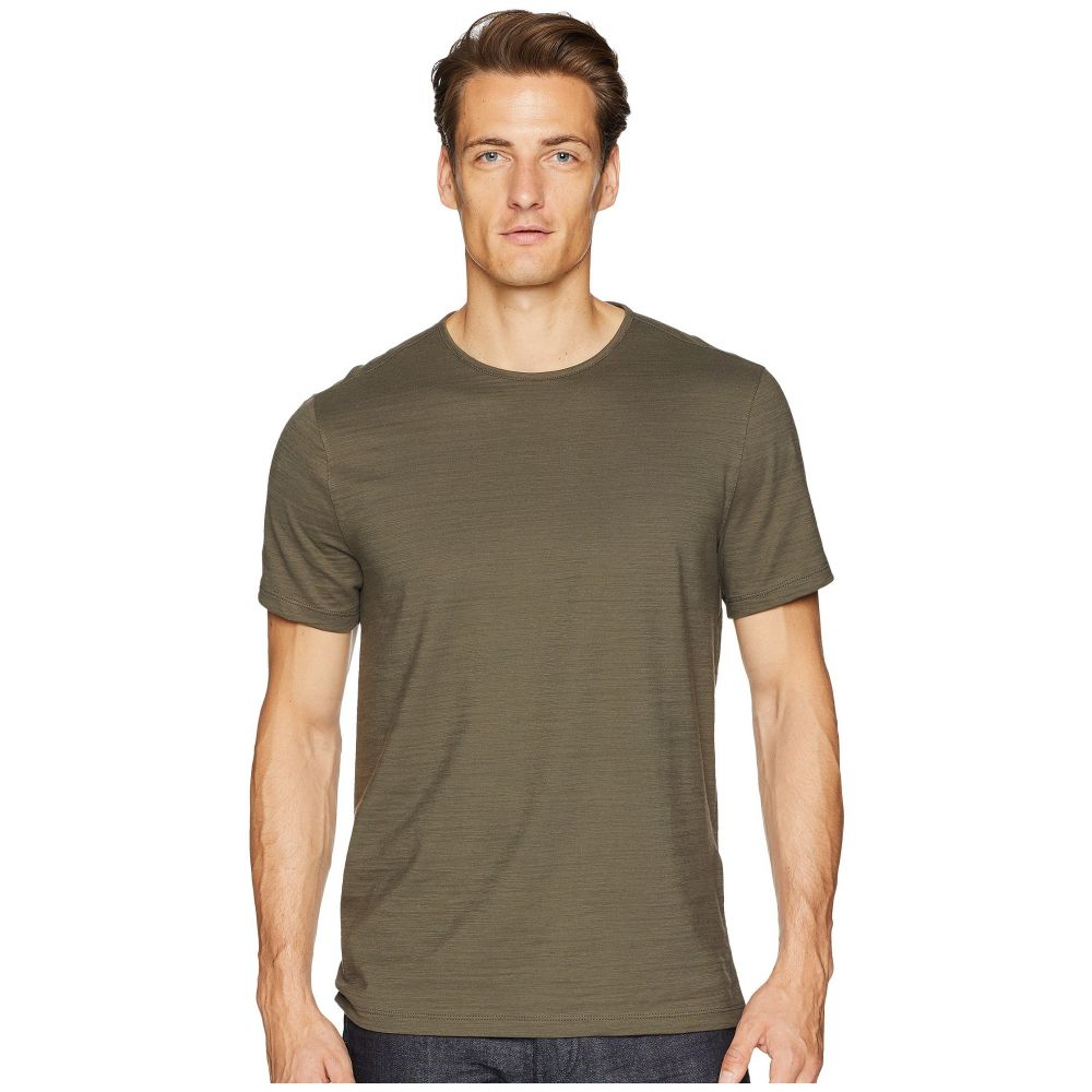 ジョン バルベイトス John Varvatos Collection メンズ トップス Tシャツ【Cotton Slub Crew Neck K1762U2】Dark Olive