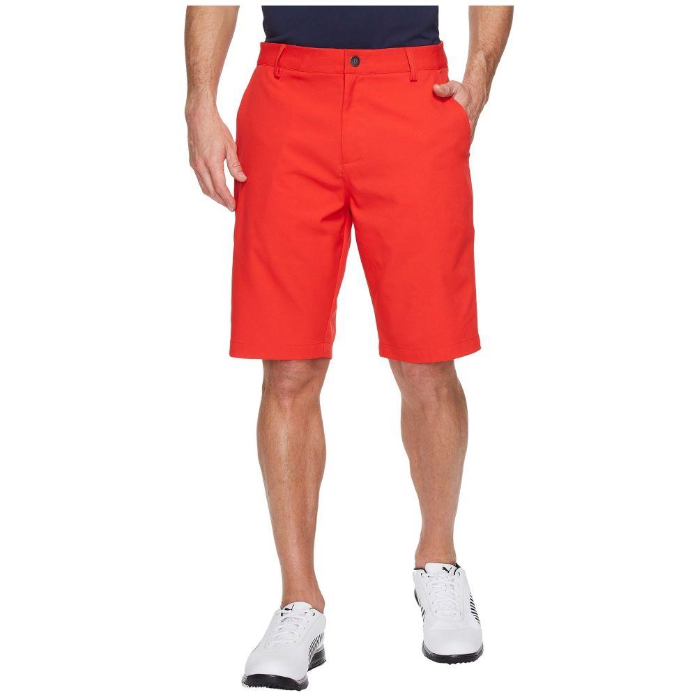 プーマ PUMA Golf メンズ ゴルフ ボトムス・パンツ【Essential Pounce Shorts】High Risk Red