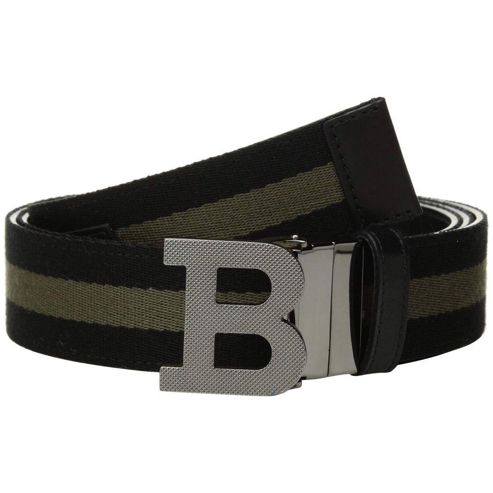 バリー Bally メンズ ベルト【B Buckle Fixed/Reversible Belt】Black/Fango
