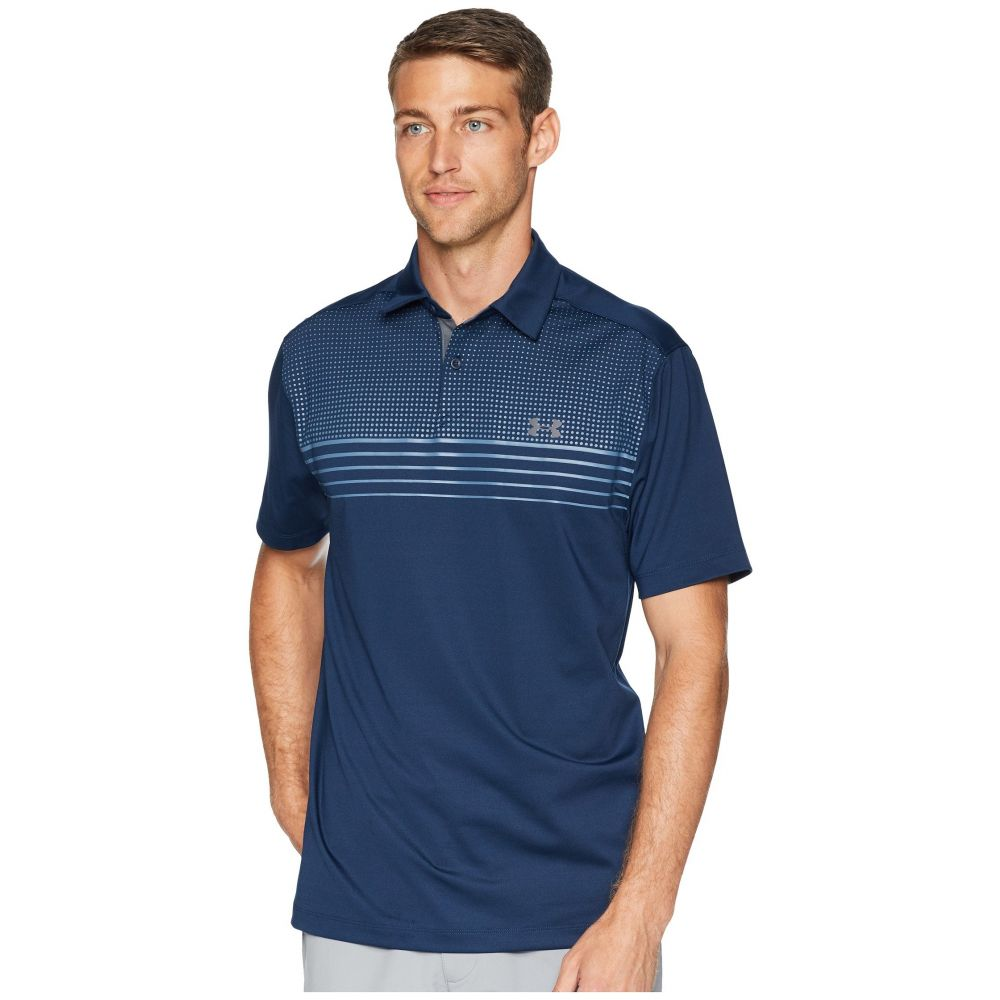 アンダーアーマー Under Armour Golf メンズ ゴルフ トップス【CoolSwitch Launch Polo】Academy/Rhino Gray